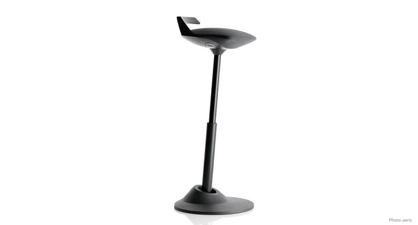 The Muvman is topped off with a premium microfiber seat and a carrying handle that is seamlessly integrated into the stool's design