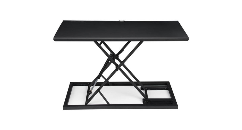 The E3 Compact Stand Up Desk Converter helps you enjoy a sit-stand experience without the major overhaul