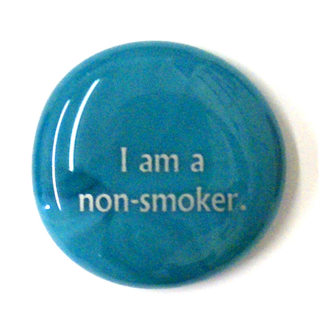 I am a non-smoker.