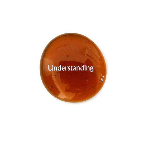 12 Powers- Understanding... Glass Stone from Lifeforce Glass