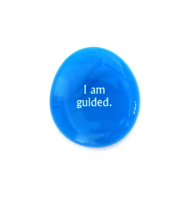 I am guided... Glass Stone From Lifeforce Glass