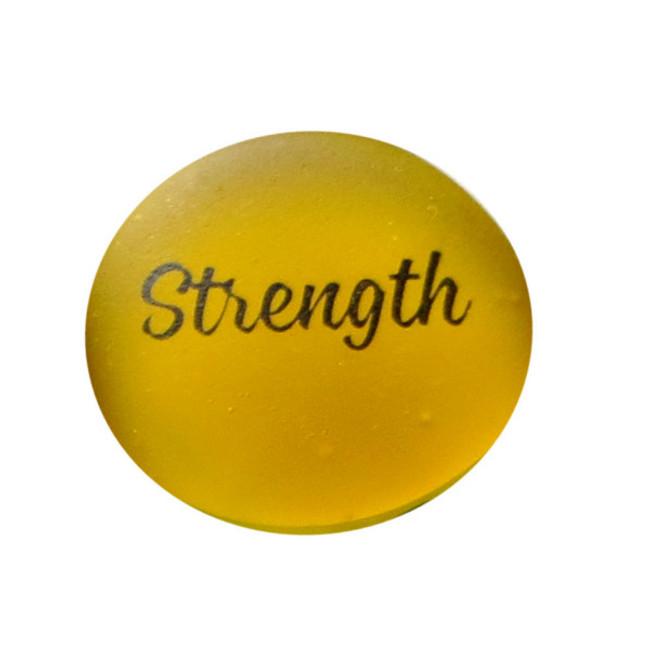 Strength Sea Stone from Lifeforce Glass, Inc.