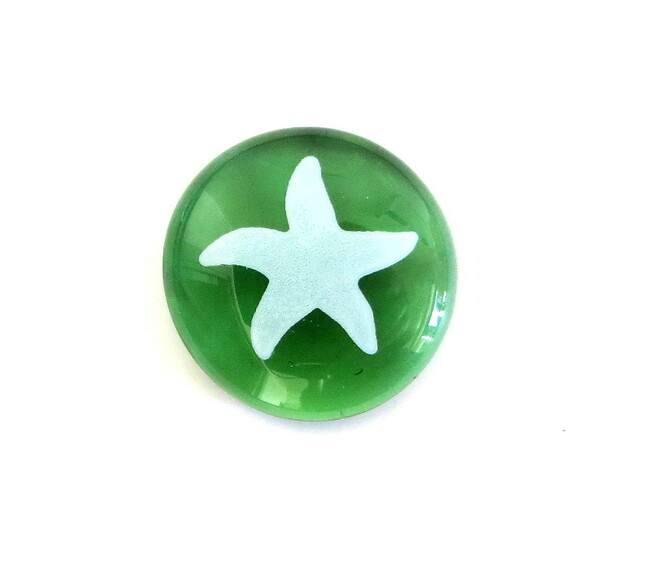 Starfish... Glass Stone from Lifeforce Glass