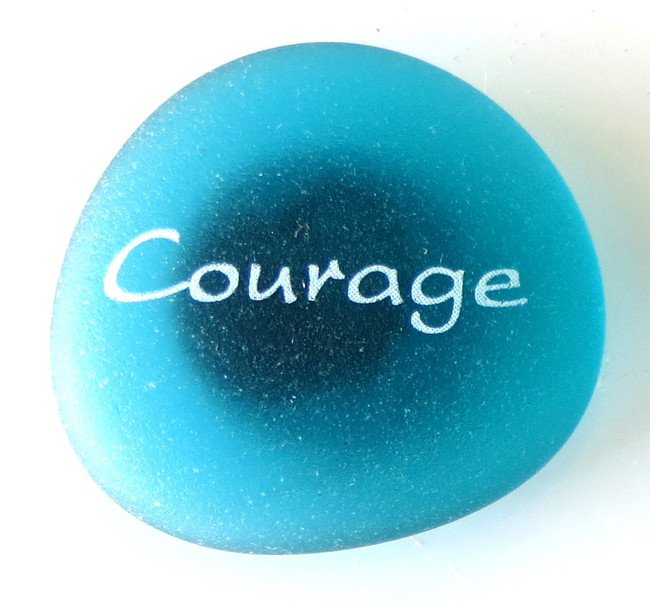 Mermaid Message Magnet, Courage