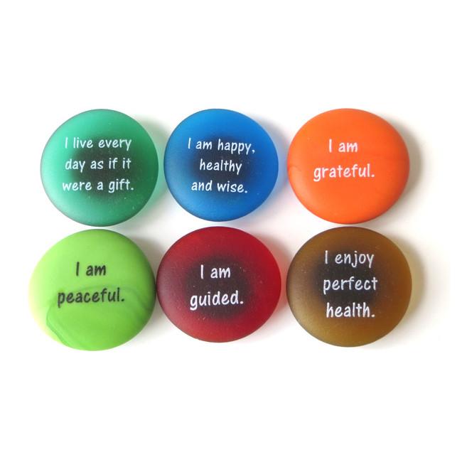 Affirmation Magnets, Set I from Lifeforce Glass, Inc.