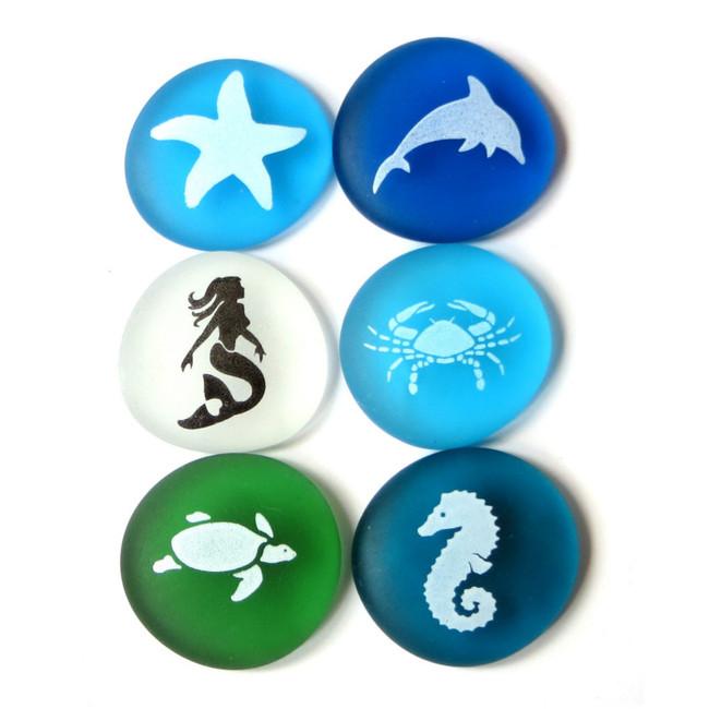 The Mermaid's Message Sea Life set of 6