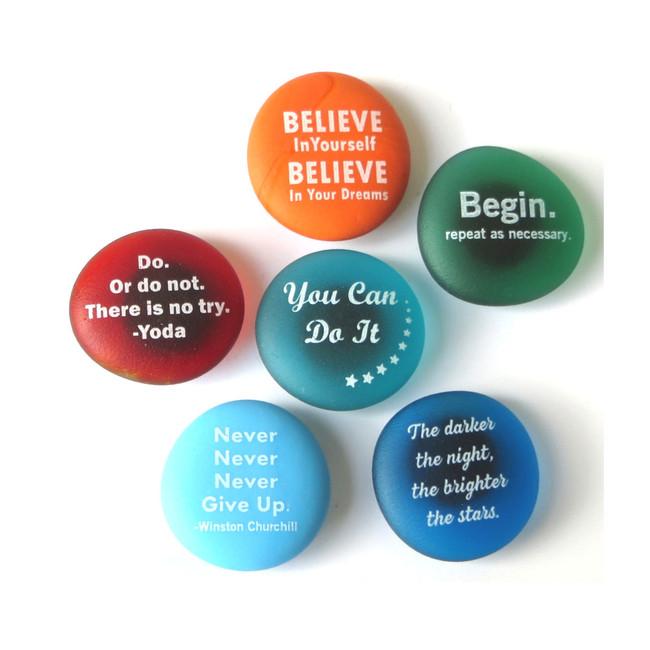 Inspiration Magnets Set I from Lifeforce Glass, Inc.