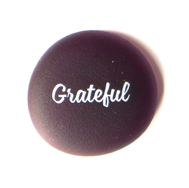Sea Stone Grateful from Lifeforce Glass