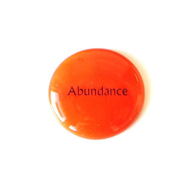 Abundance... Glass Stone from Lifeforce Glass