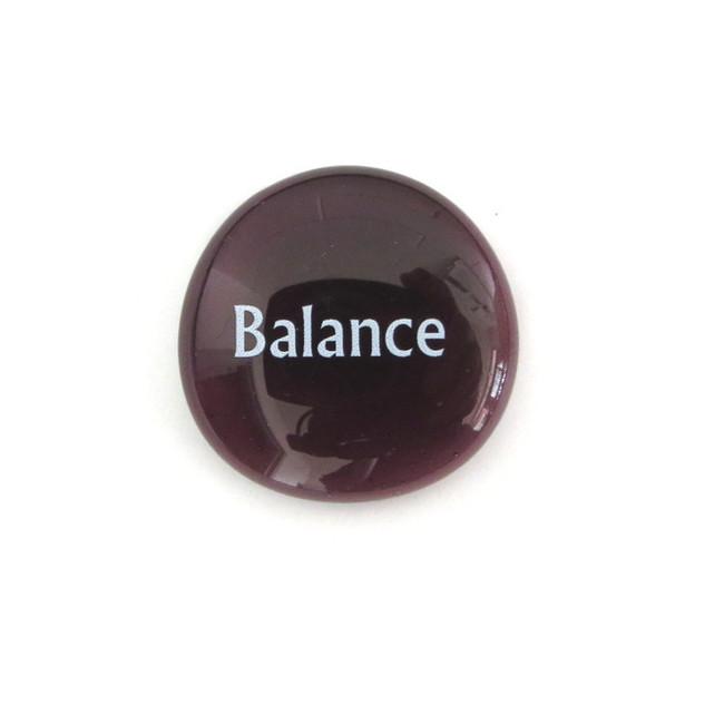 Balance... Glass Stone from Lifeforce Glass