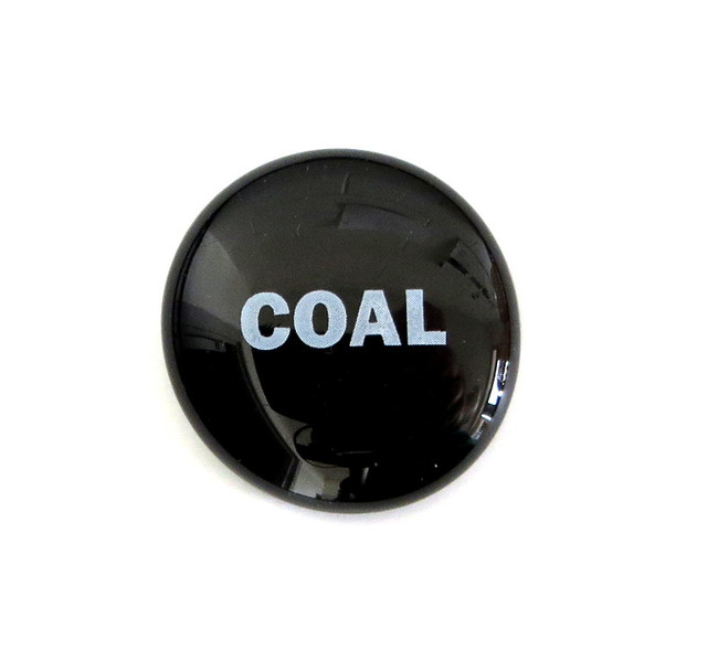 COAL... Glass Stone from Lifeforce Glass