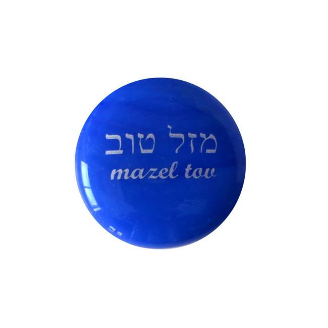 mazel tov... Glass Stone from Lifeforce Glass