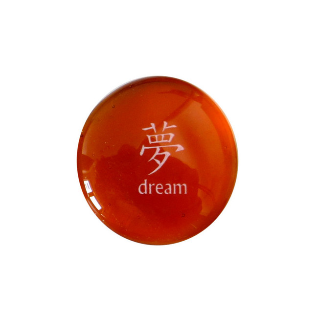 Chinese Dream... Glass Stone from Lifeforce Glass