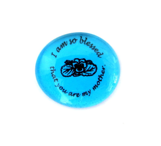 I am so blessed that you... Glass Stone from Lifeforce Glass