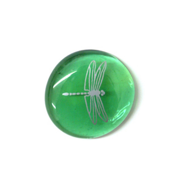 Dragonfly... Glass Stone from Lifeforce Glass