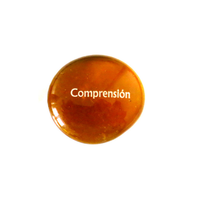 Spanish 12 Powers- Comprension (Understanding)... Glass Stone from Lifeforce Glass