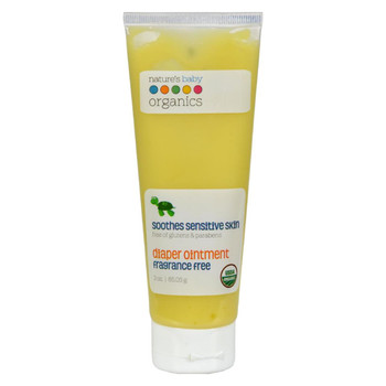 Nature's Baby Organics Diaper Ointment All Natural Fragrance Free - 3 oz