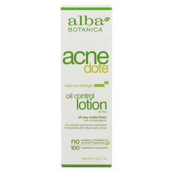 Alba Botanica Natural Acnedote Oil Control Lotion - 2 fl oz