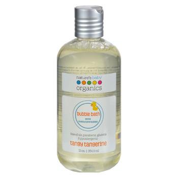 Nature's Baby Organics Bubble Bath - Moisturizing - Tangy Tangerine - 12 oz
