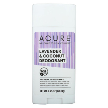 Acure - Deodorant Lavender and Coconut - 2.25 oz