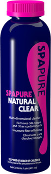 Spa Pure Natural Clear 16oz (7609P40A)