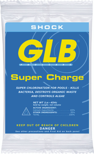 GLB Super Charge (71428A) sold in cases of 24 - 1# bags only