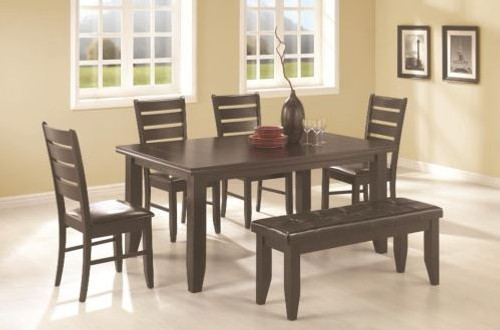 Contemporary Table with Chairs