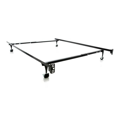 Twin/Full LT Adjustable Bed Frame W/rollers