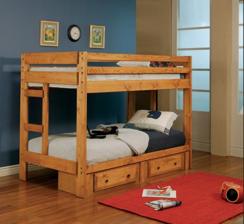 Wrangle Hill Collection Twin/Twin Bunk Bed