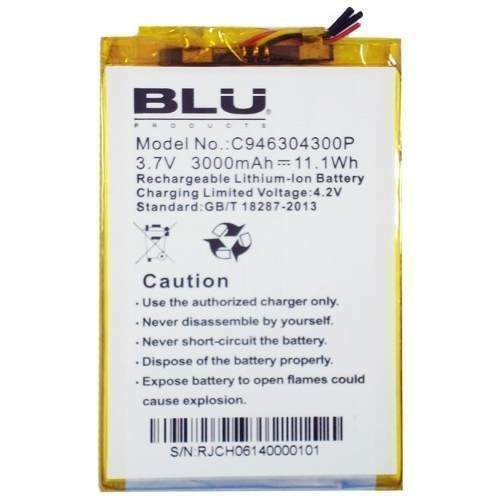 Replacement Battery for blu studio 6.0 lte y650q