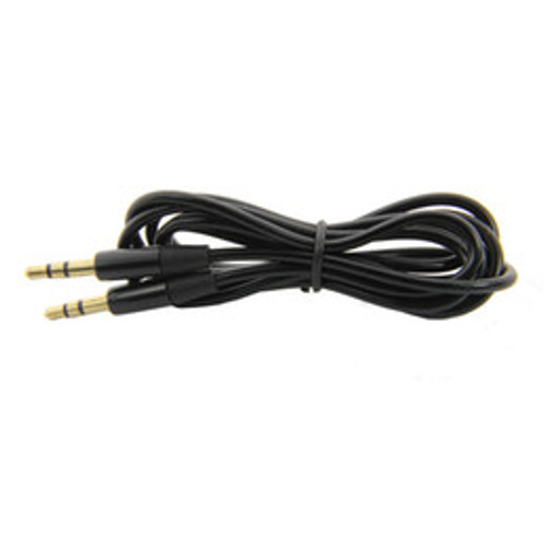 auxiliary cable 3.5mm to 3.5mm black