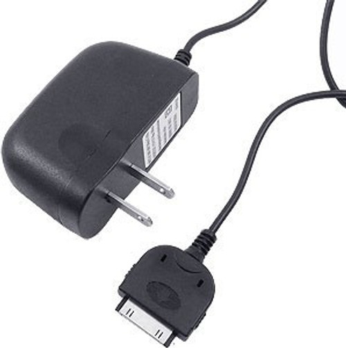 30 pin travel  charger for iphone 4 2 amp black