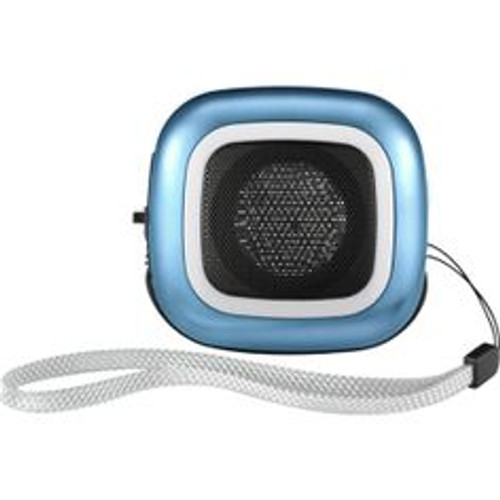 Dynex Portable Wired Speaker Aqua