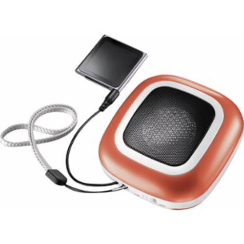 Dynex Portable Wired Speaker Orange