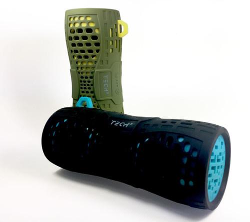 TECH 2 Sonic Boom Splashproof Bluetooth Speaker-Green
