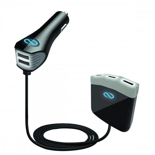 Naztech High power roadstar 5 port charger adapter