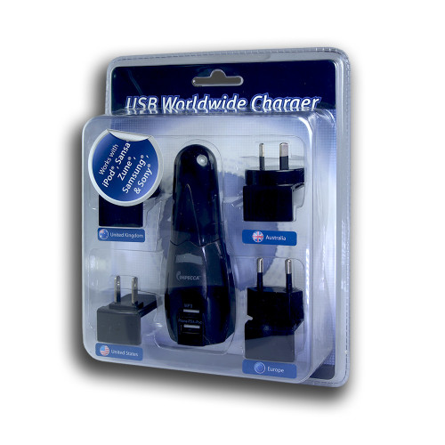IMPECCA USB Worldwide Charger