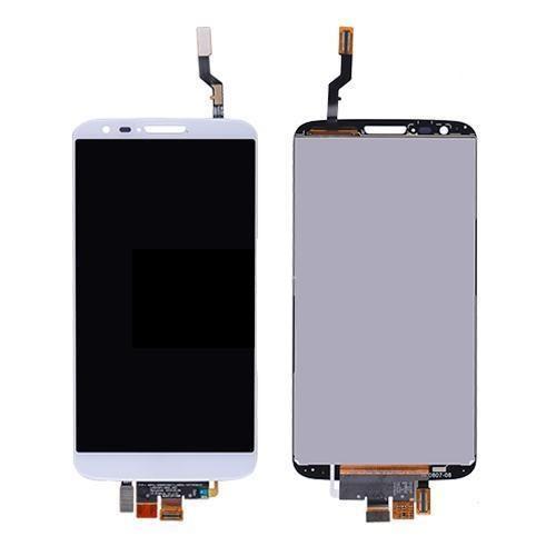 LG G2 D800 Lcd W/Digitizer White
