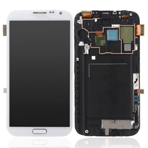 Samsung Galaxy Note 2 N7100 Lcd W/Digitizer White