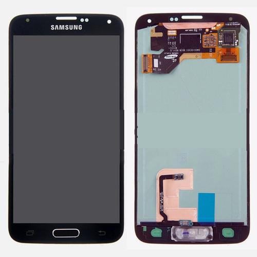 Samsung Galaxy S5 G900 Lcd W/Digitizer Black/Blue