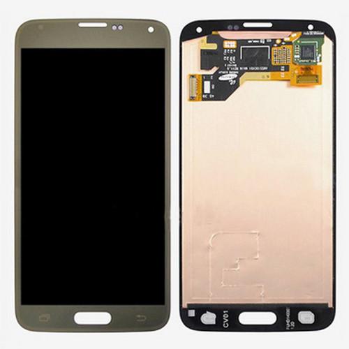 Samsung Galaxy S5 G900 Lcd W/Digitizer Gold