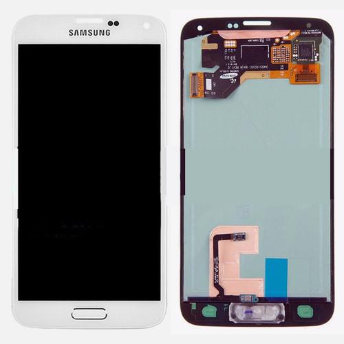Samsung Galaxy S5 G900 Lcd W/Digitizer White