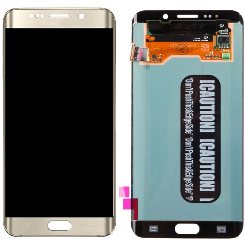 Samsung Galaxy S6 Edge Plus G928 Lcd W/Digitizer Gold