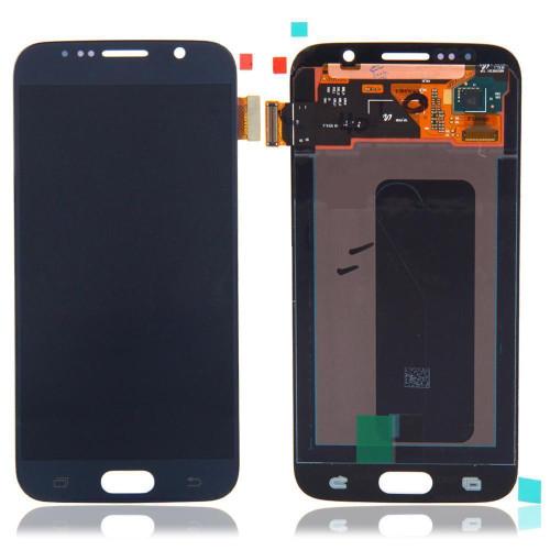 Samsung Galaxy S6 G920 Lcd W/Digitizer Black/Blue