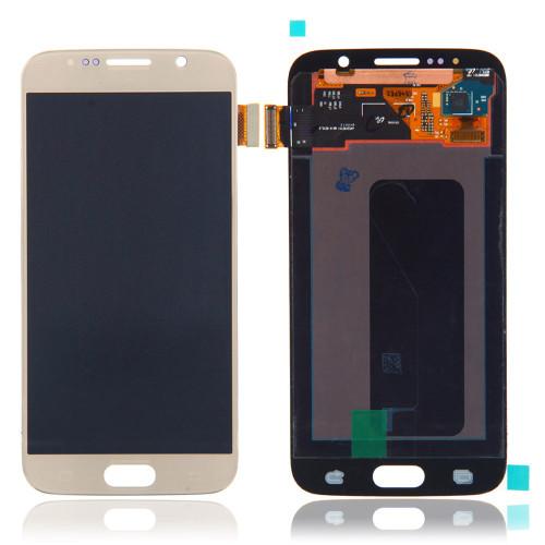Samsung Galaxy S6 G920 Lcd W/Digitizer Gold