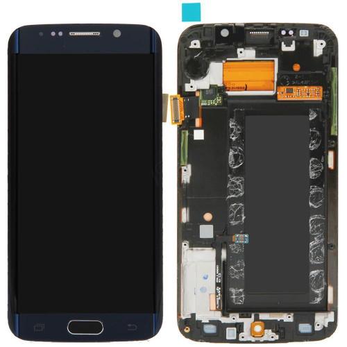 Samsung Galaxy S6 Edge G925i Lcd W/Digitizer Dark Blue