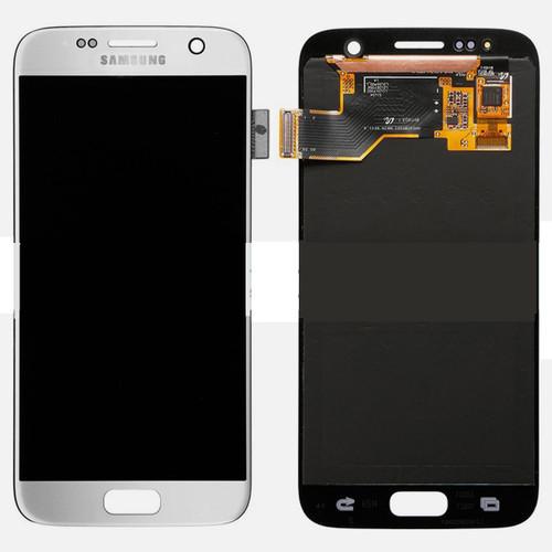 Samsung Galaxy S7 G930 Lcd W/Digitizer Silver
