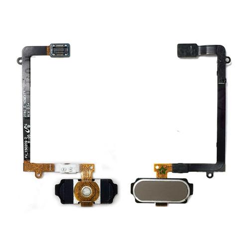 Samsung Galaxy S6 Edge G925 Home Button Flex Gold