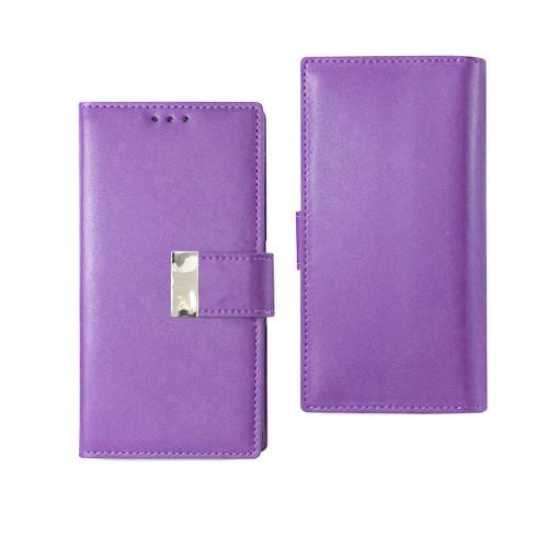Vogue wallet for samsung galaxy j7 prime violet
