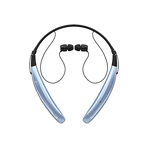 LG HBS-770 AGSAME LG TONE PRO BLUETOOTH WIRELESS STEREO HEADSET METALLIC BLUE